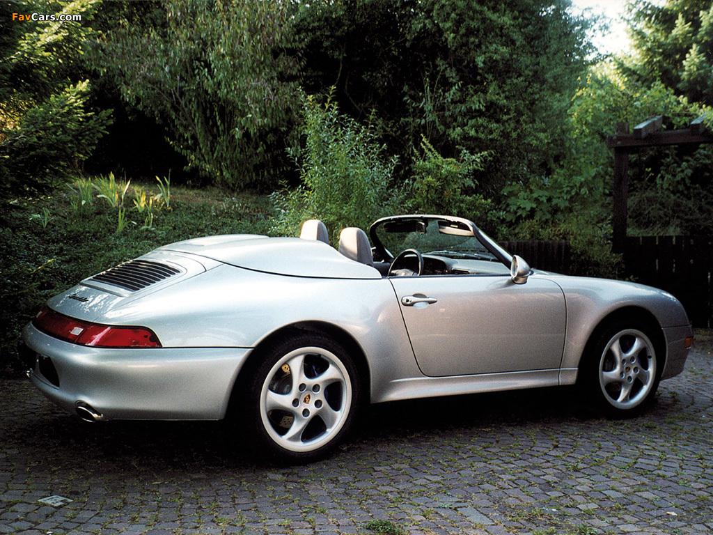 Porsche 911 Carrera Speedster 993 1995 98 Images 1024x768