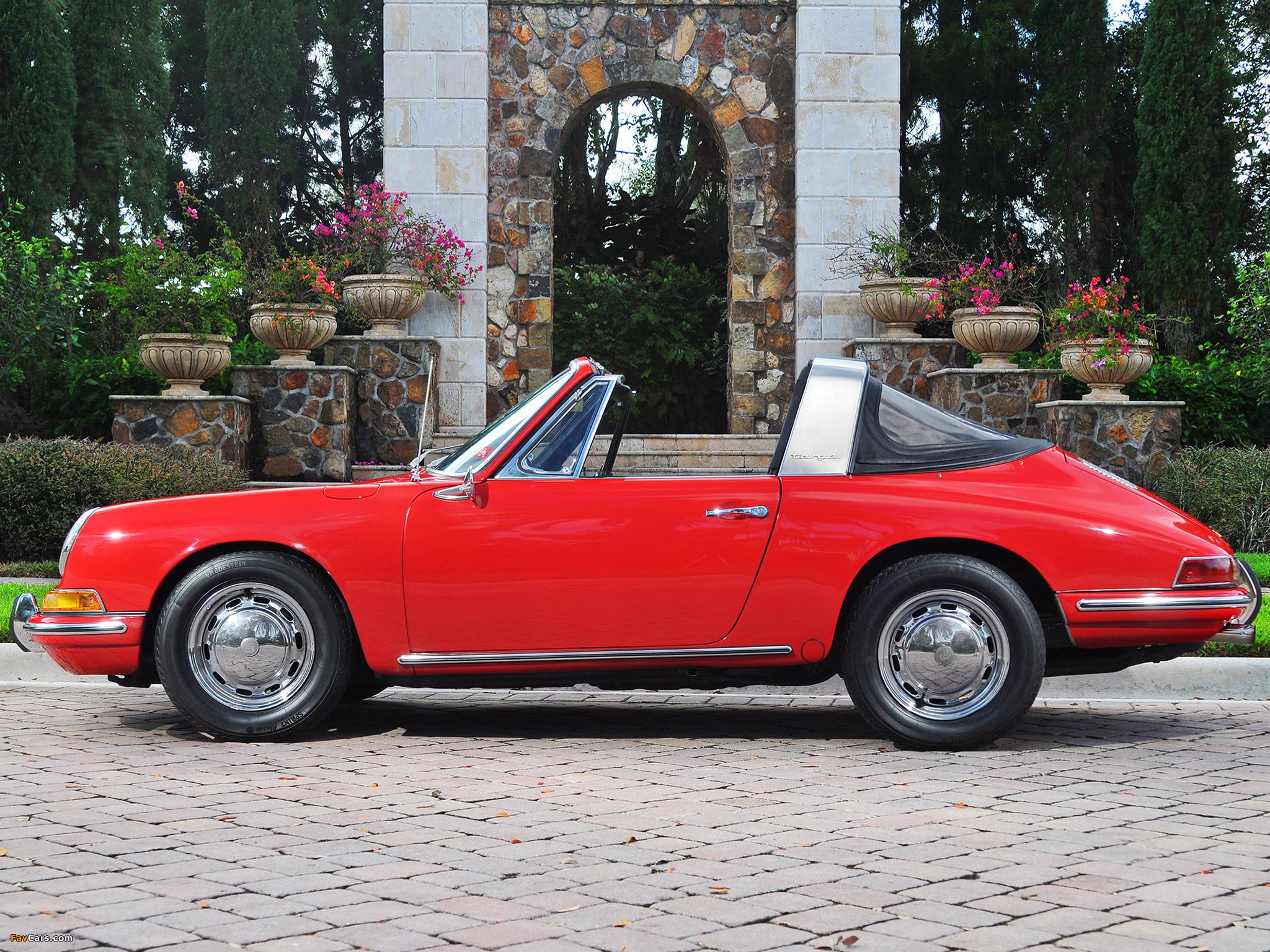 Die 68 Besten Porsche Wallpapers: Porsche 911 S 2.0 Targa (901) 1966–68 Wallpapers (2048x1536