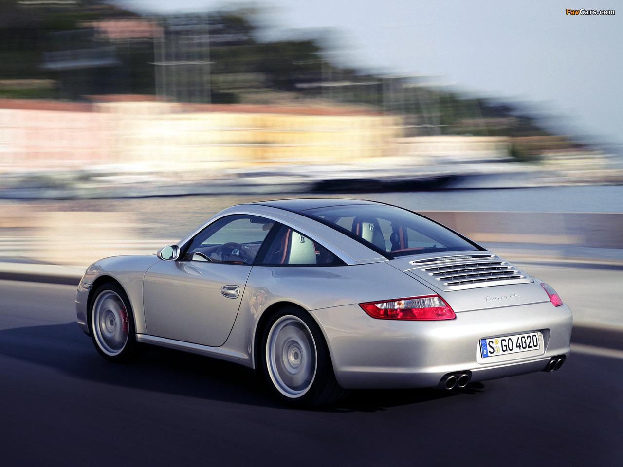 Porsche 911 Targa 4s 997 2005 08 Images 1280x960