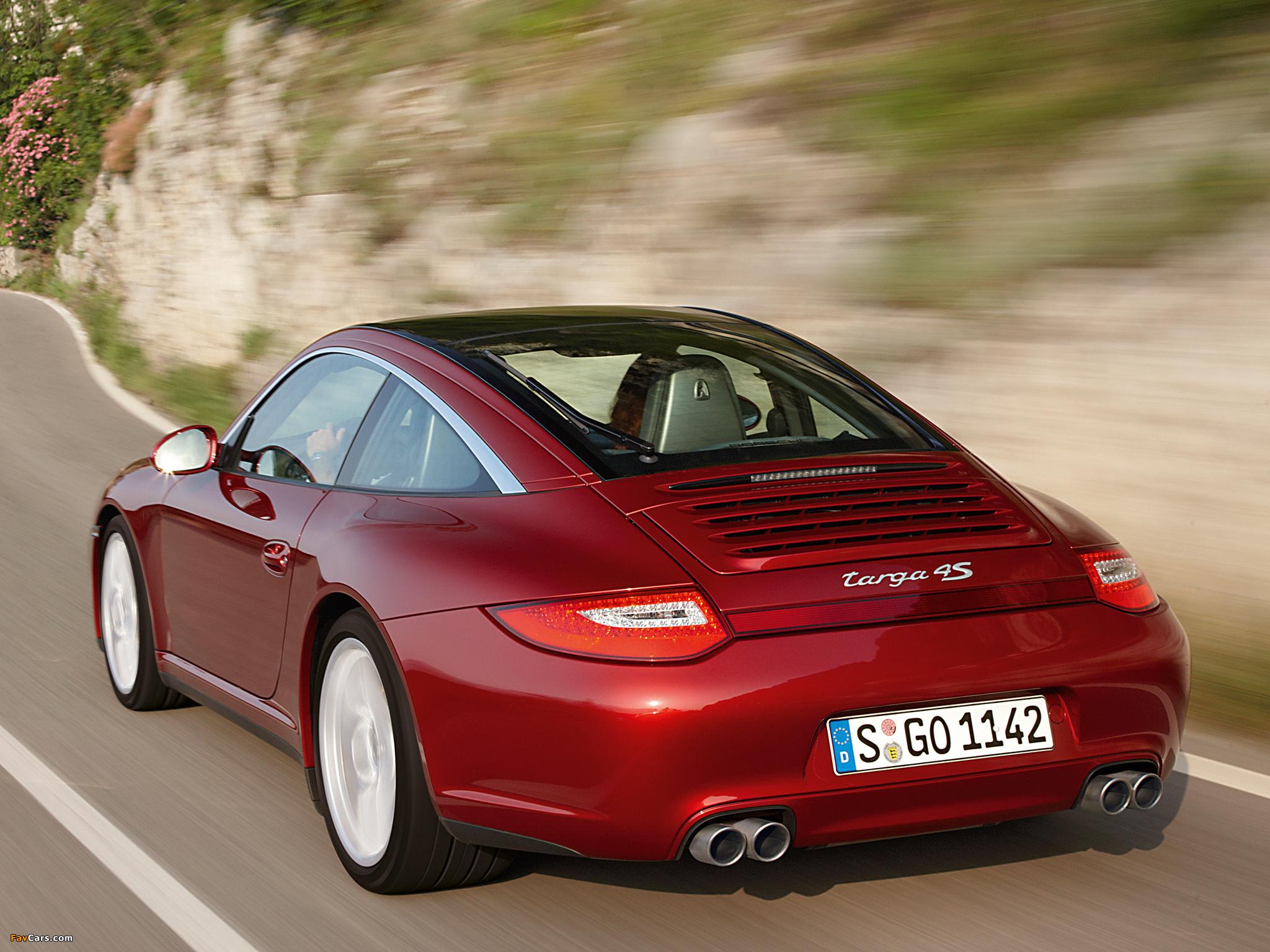 Porsche 911 Targa 4s 997 2008 Pictures 2048x1536
