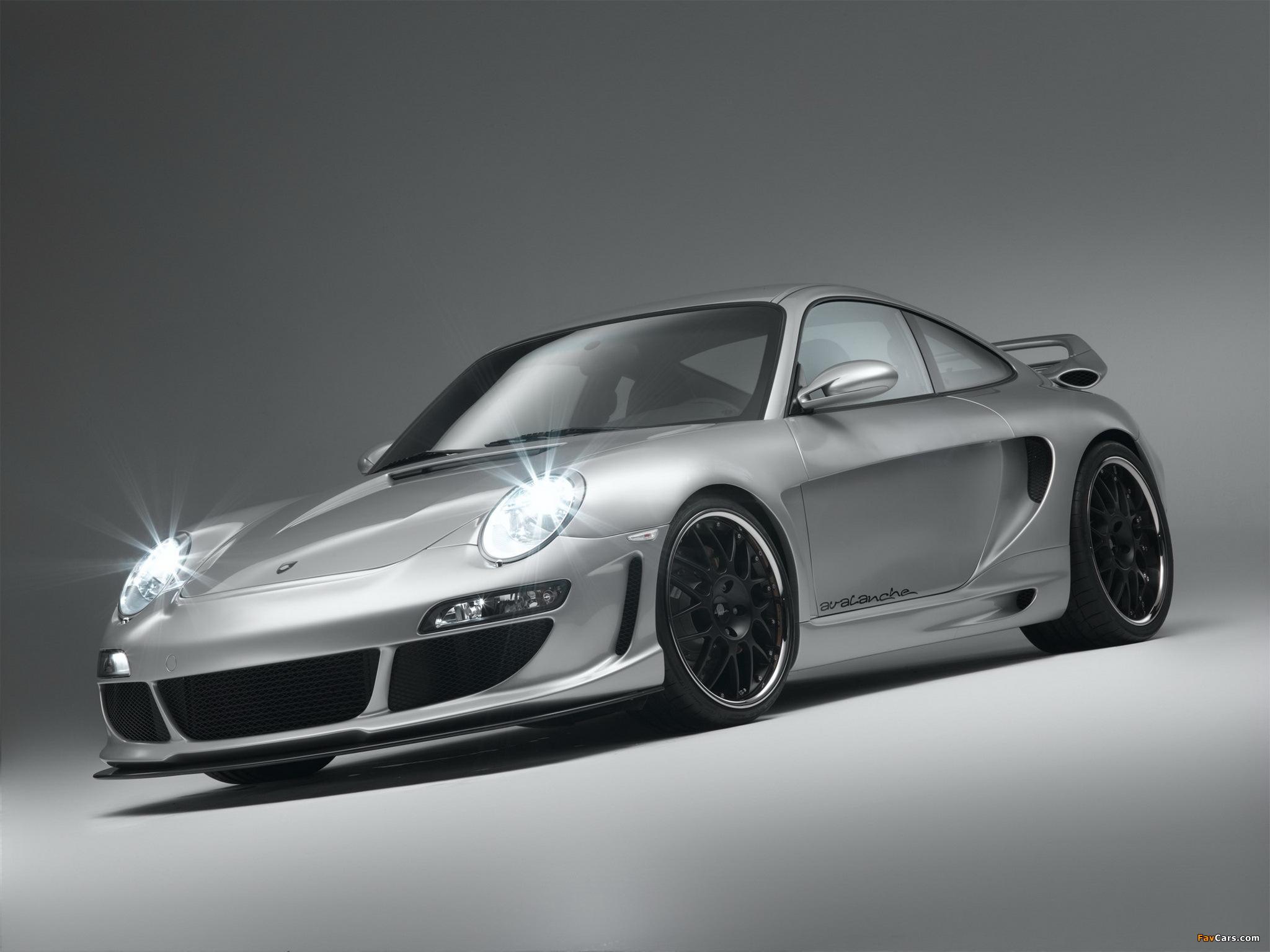 серебристая Porsche  № 984987 бесплатно