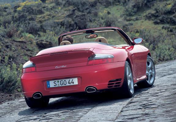 ... / Preview - Photos of Porsche 911 Turbo Cabriolet (996) 2003–05