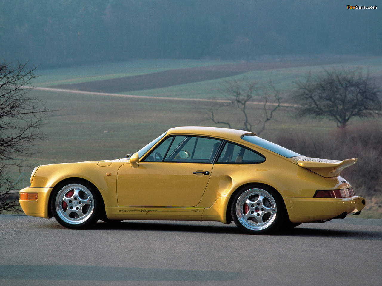 Pictures of Porsche 911 Turbo S 3.3 Leichtbau (964) 1992–93 (1280 x ...
