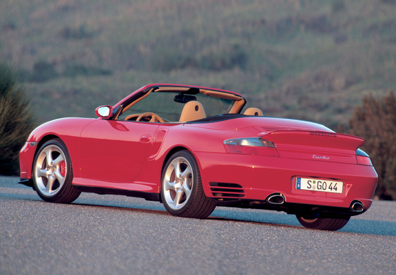... / Preview - Pictures of Porsche 911 Turbo Cabriolet (996) 2003–05
