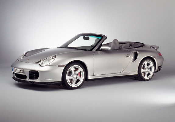 ... / Preview - Porsche 911 Turbo Cabriolet (996) 2003–05 wallpapers