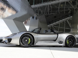 Porsche 918 Spyder Concept 2010 wallpapers