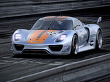 Porsche 918 RSR Concept 2011 wallpapers
