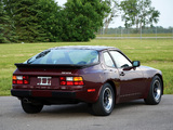 Porsche 944 Coupe US-spec 1982–89 photos