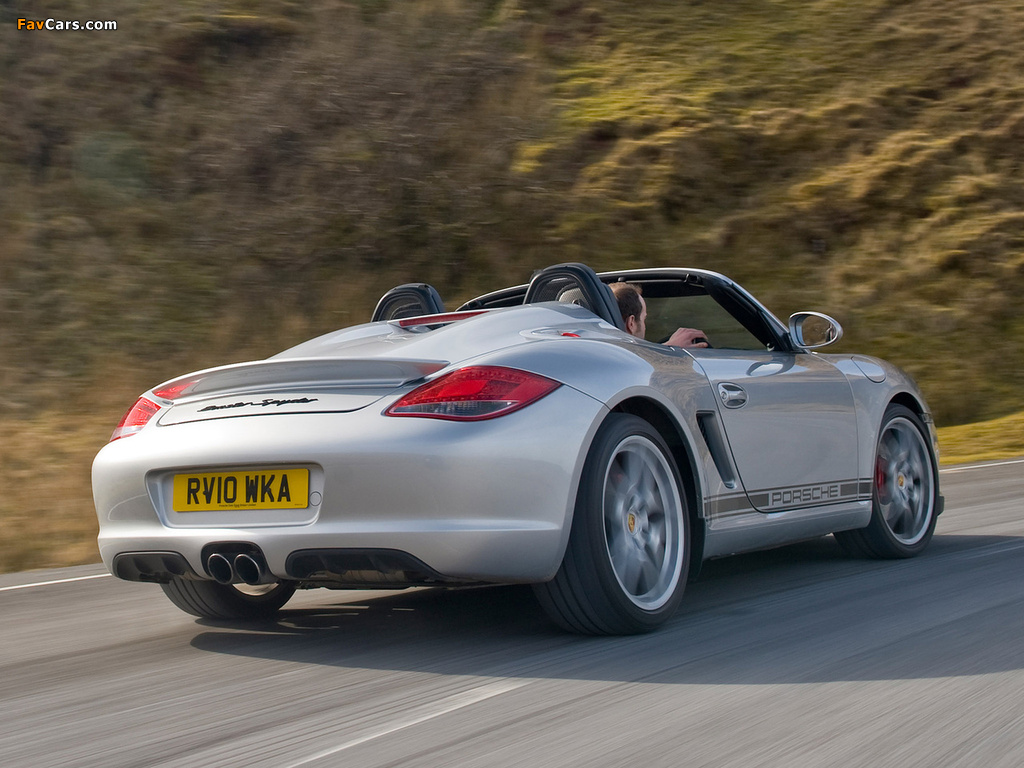 Pictures Of Porsche Boxster Spyder Uk Spec 987 2010