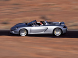 Photos of Porsche Carrera GT Concept (980) 2000
