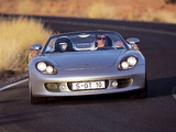 Pictures of Porsche Carrera GT Concept (980) 2000