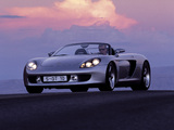 Porsche Carrera GT Concept (980) 2000 wallpapers