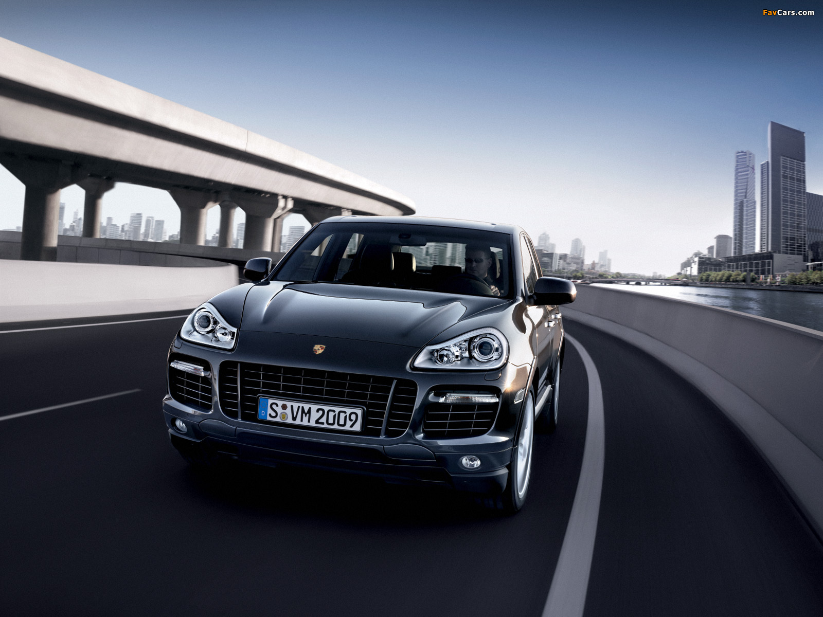 wallpapers of porsche cayenne turbo s 957 2008�10