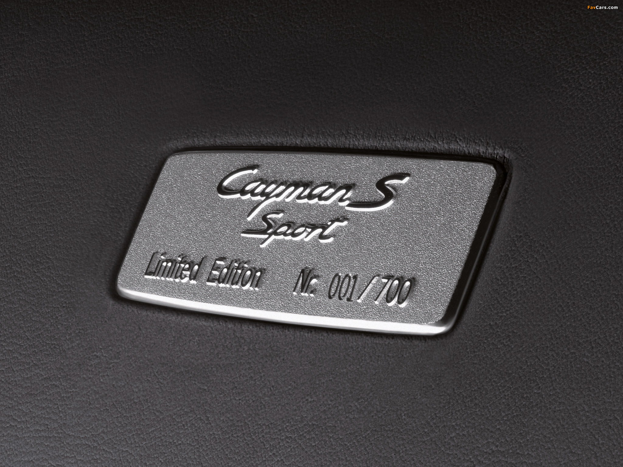 Photos of Porsche Cayman S Sport Limited Edition (987C) 2008 (2048 x ...