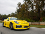 Photos of Porsche Cayman GT4 US-spec (981C) 2015