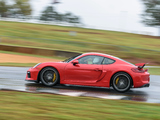 Porsche Cayman GT4 US-spec (981C) 2015 photos