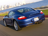 Porsche Cayman S US-spec (987C) 2007–08 wallpapers
