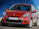 Photos of Renault Clio 3-door UK-spec 2009–12
