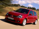 Pictures of Renault Clio RS 2002–05