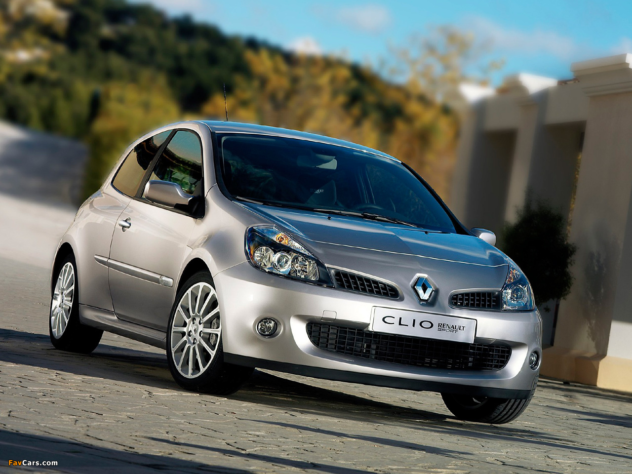 renault clio rs 2006 09 wallpapers 1280x960. Black Bedroom Furniture Sets. Home Design Ideas