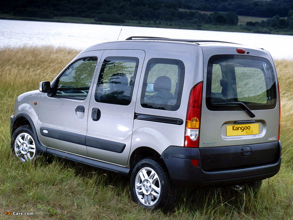 pictures of renault kangoo 4x4 2004 07 1024x768. Black Bedroom Furniture Sets. Home Design Ideas