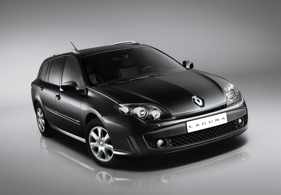 renault laguna grandtour black edition 2009 wallpapers. Black Bedroom Furniture Sets. Home Design Ideas