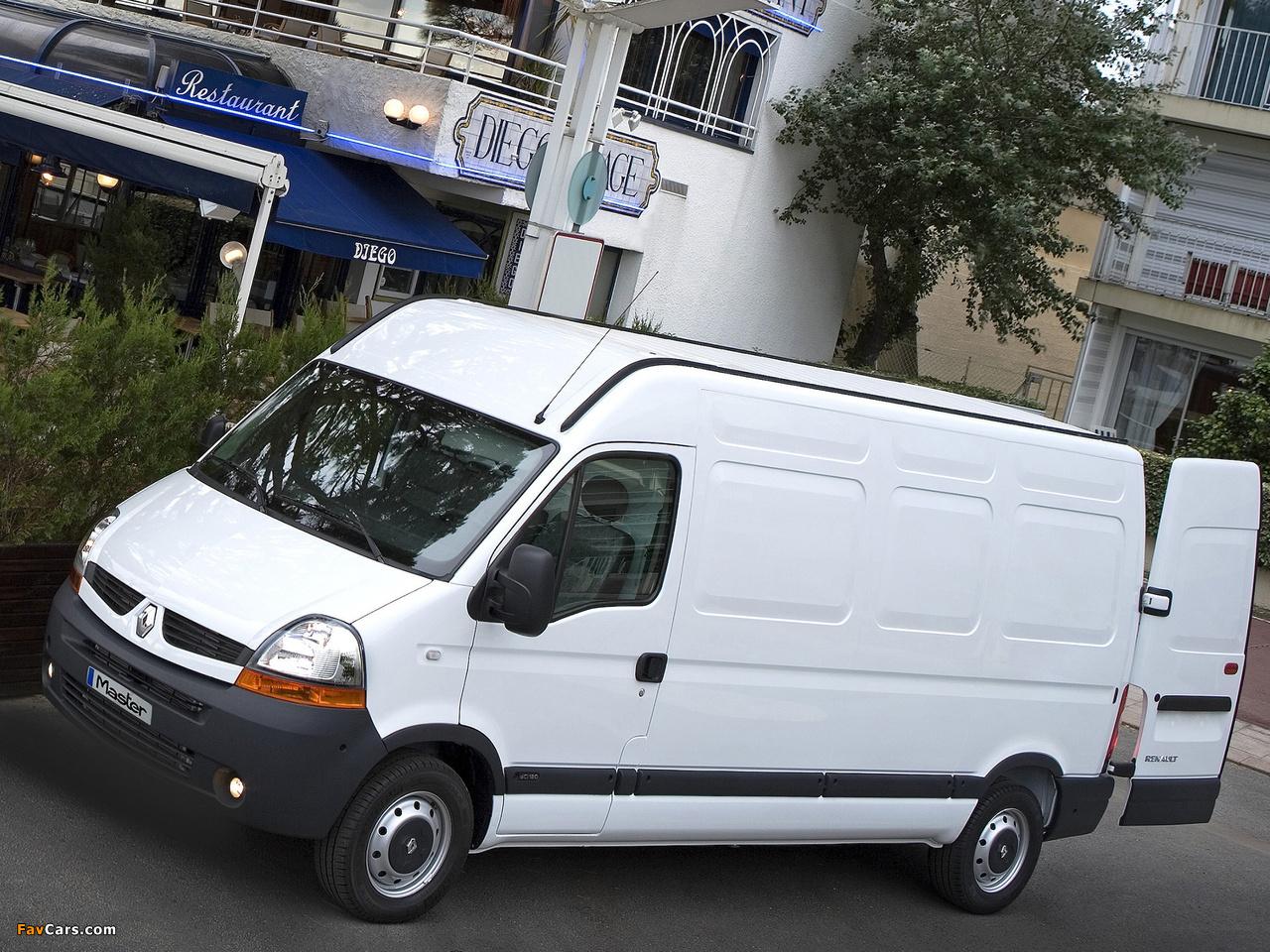 Renault Master Van 2003 U201310 Wallpapers  1280x960