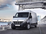 Renault Master Van LWB 2010 wallpapers