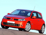 Images of Renault Megane RS 3-door ZA-spec 2004–06