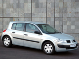 Photos of Renault Megane 5-door ZA-spec 2003–06