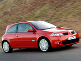 Pictures of Renault Megane RS 3-door ZA-spec 2004–06