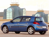 Renault Megane 5-door ZA-spec 2003–06 images