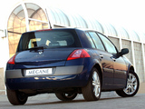 Renault Megane 5-door ZA-spec 2003–06 photos