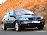 Renault Megane 5-door ZA-spec 2003–06 pictures