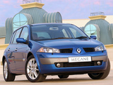 Renault Megane 5-door ZA-spec 2003–06 wallpapers