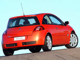 Renault Megane RS 3-door ZA-spec 2004–06 photos