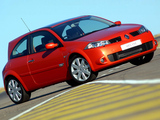 Renault Megane RS 3-door ZA-spec 2004–06 wallpapers