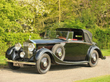 Rolls-Royce 20/25 HP Drophead Coupe by Mulliner 1934 wallpapers