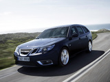 Saab 9-3 Aero SportCombi 2008–11 wallpapers