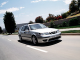 Saab 9-5 Aero Wagon 2002–05 wallpapers