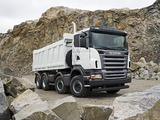 Photos of Scania R420 8x4 Tipper 2004–09
