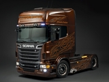 Photos of Scania R730 4x2 Topline Black Amber 2011