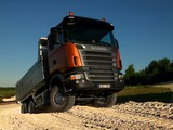 Wallpapers of Scania R420 6x4 Tipper 2004–09