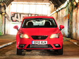 Seat Ibiza UK-spec 2012 photos