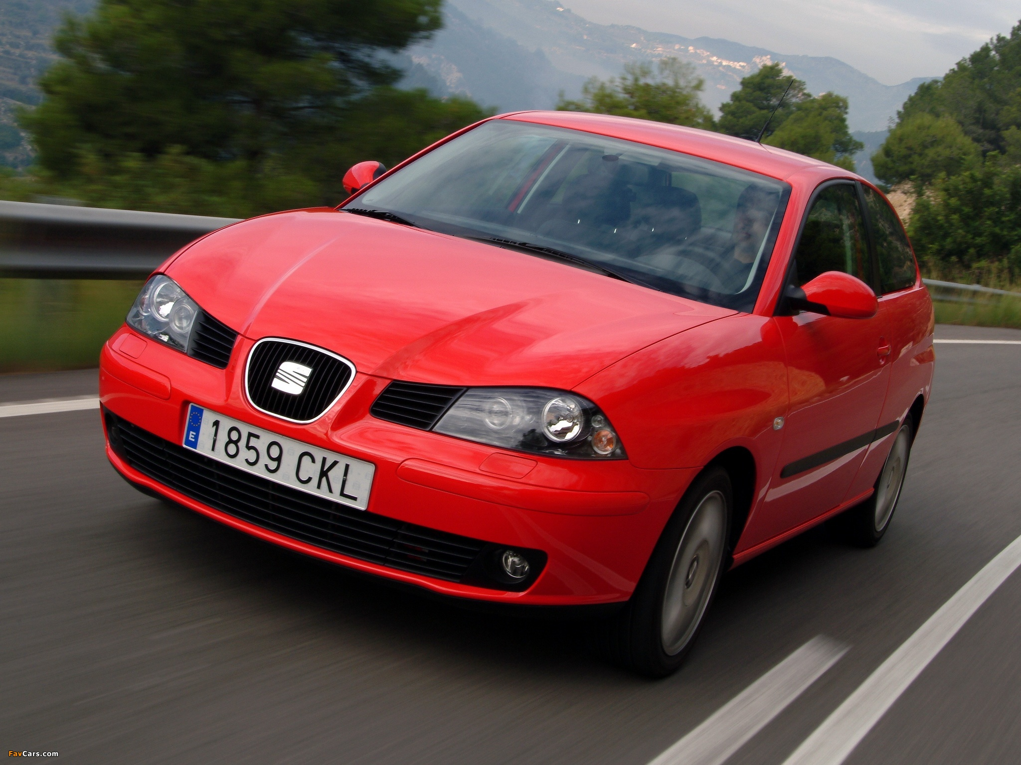wallpapers of seat ibiza 3 door 2002 06 2048x1536. Black Bedroom Furniture Sets. Home Design Ideas