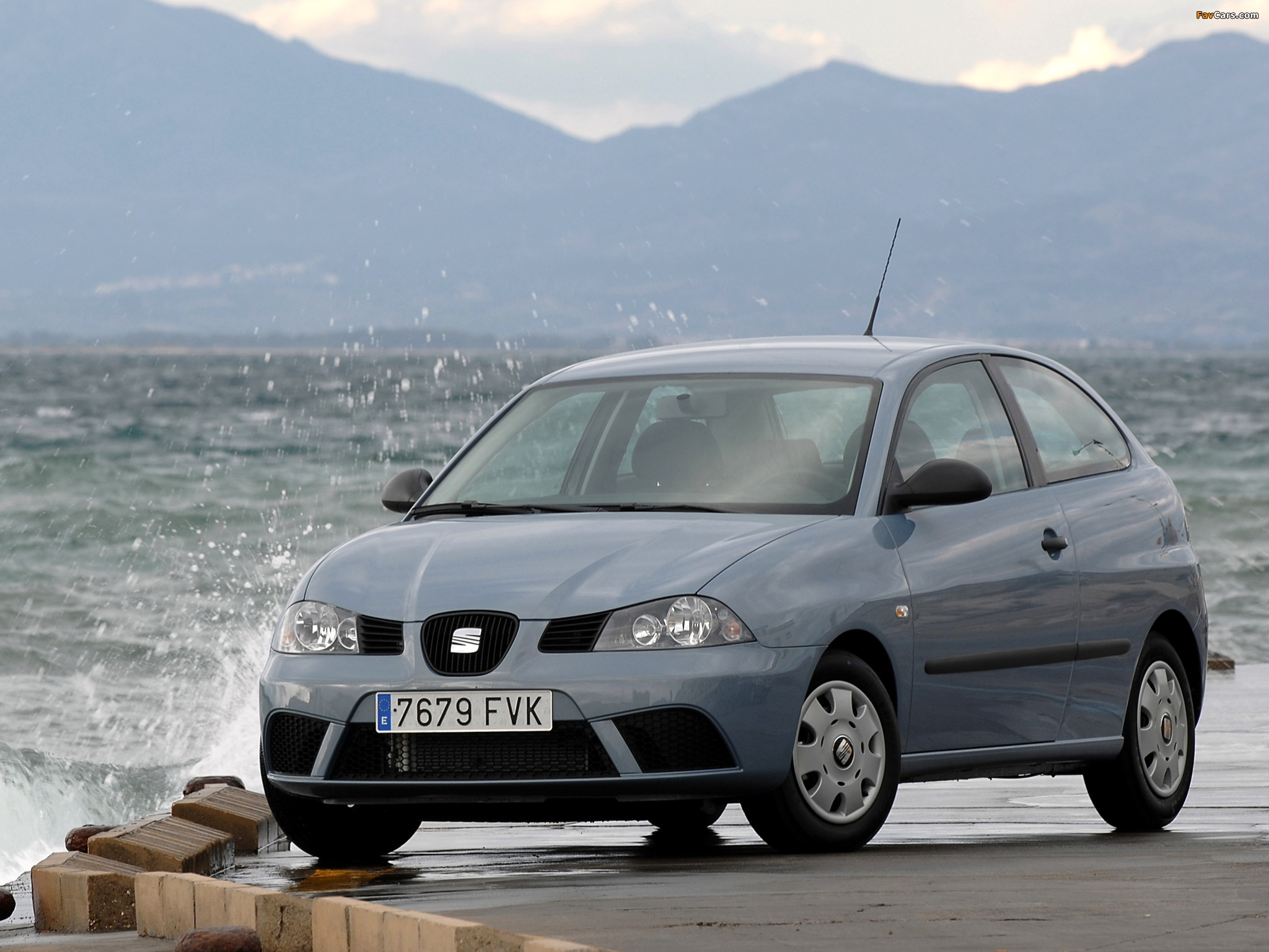 wallpapers of seat ibiza ecomotive 3 door 2007 08 2048x1536. Black Bedroom Furniture Sets. Home Design Ideas