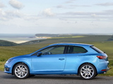 Seat Leon SC FR UK-spec 2013 images