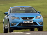 Seat Leon SC FR UK-spec 2013 photos