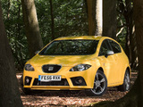 Seat Leon FR 2006–09 wallpapers