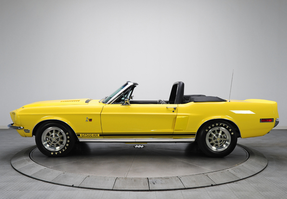 Photos of Shelby GT500 KR Convertible 1968 (1280x960)